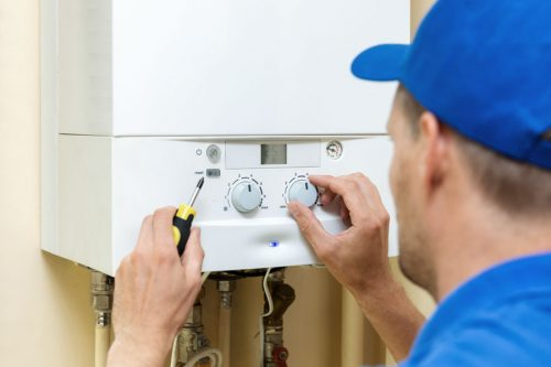 Servicio de instalación o reparación de calderas
