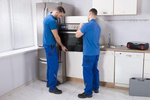 Servicio de instalación de horno de cocina