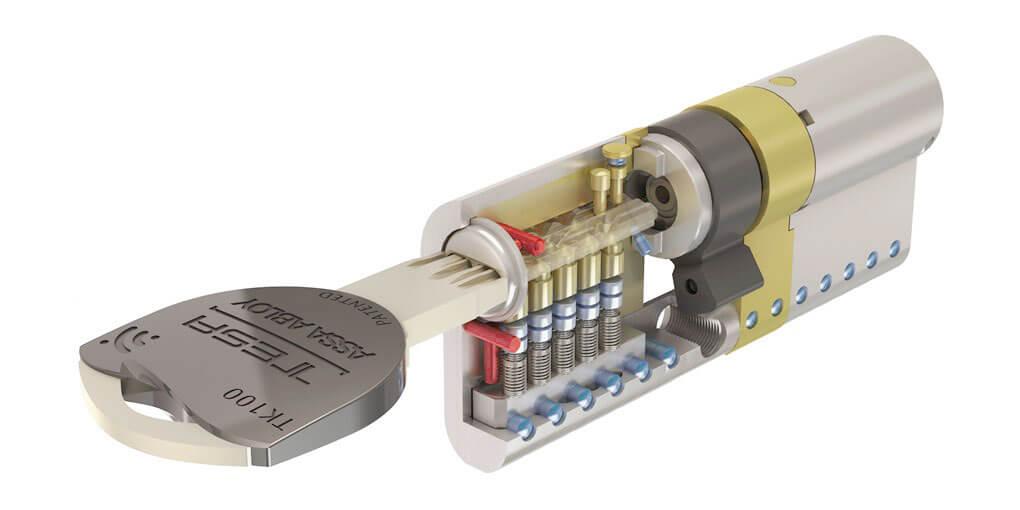Cerradura antibumping - TESA TK100