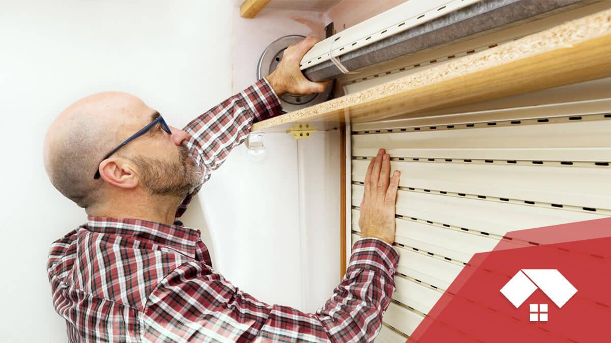Reparar una persiana doméstica