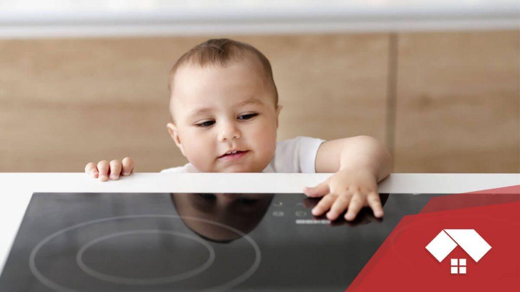 Seguridad en la cocina de inducción magnética