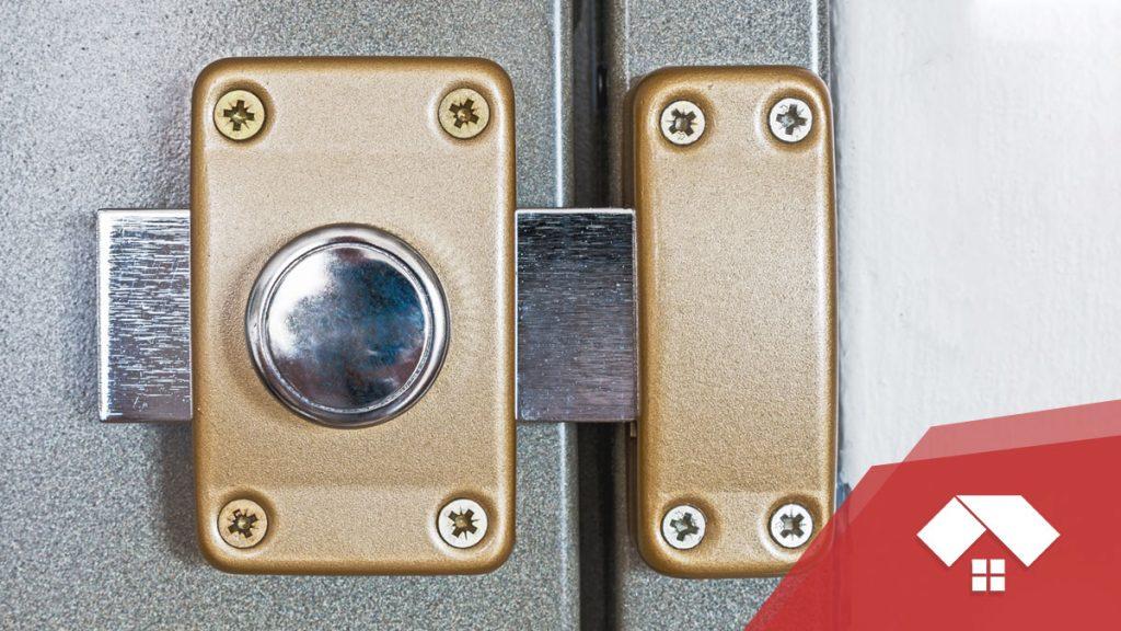 Tipos de cerrojos para puertas