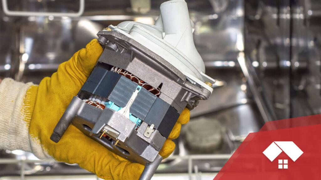 Motor de lavavajillas