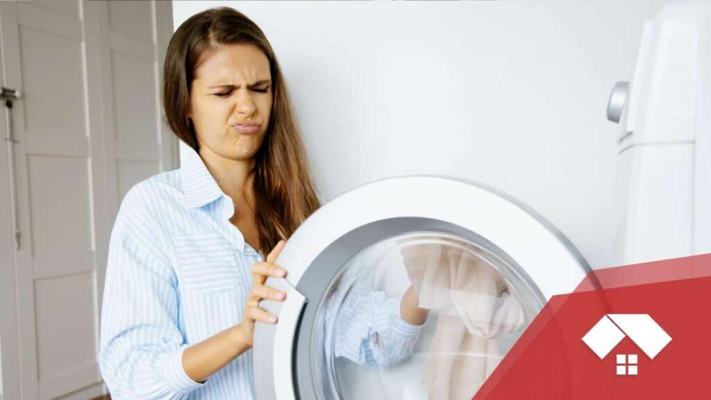 mal olor en la lavadora